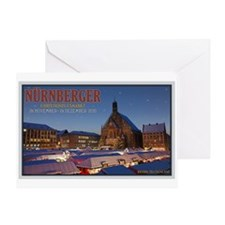 Nürnberg Christkindlmarkt Greeting Card