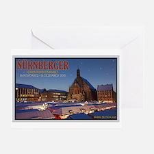 Nürnberg Christkindlmarkt Greeting Card