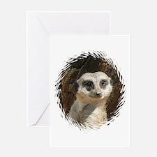 Funny Meerkat Greeting Card