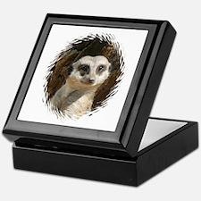 Cute Meerkats Keepsake Box