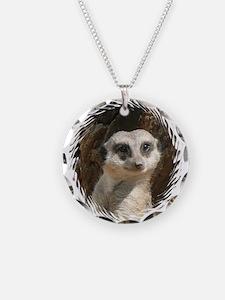 Cute Mammal Necklace Circle Charm