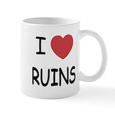 I heart ruins Mug