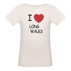 I heart long walks Tee