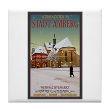 Christmas in Amberg Tile Coaster