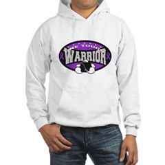 Pancreatic Cancer ToughWarrior Hoodie
