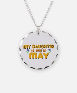 My Daughter is Due in May Necklace