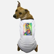 Abstract nart, nude, Dog T-Shirt