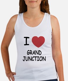 I heart grand junction Women's Tank Top