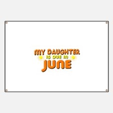 My Daughter is Due in June Banner