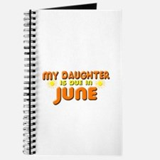 My Daughter is Due in June Journal