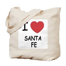 I heart santa fe Tote Bag