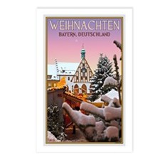Amberg Christmas Market Postcards (Package of 8)