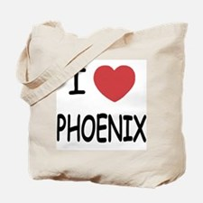 I heart phoenix Tote Bag