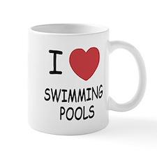 I heart swimming pools Mug