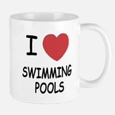 I heart swimming pools Mug