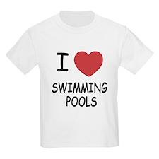 I heart swimming pools T-Shirt