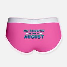 My Daughter is Due in August Women's Boy Brief