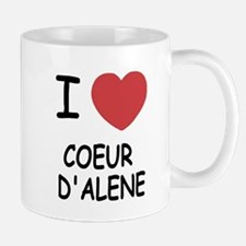 I heart coeur d'alene Mug