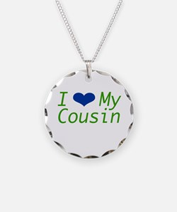 I Heart My Cousin Necklace
