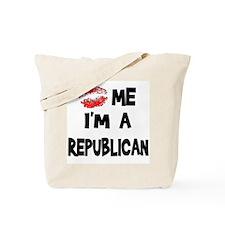 Kiss Me I'm A Republican Tote Bag