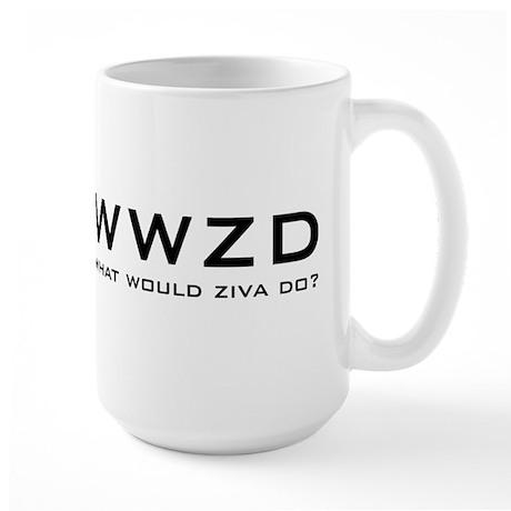 What Would Ziva Do? Large Mug