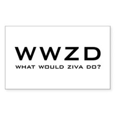 What Would Ziva Do? Decal