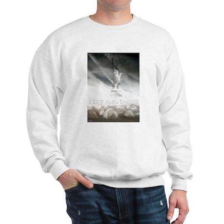 Stop Chemtrails Sweatshirt