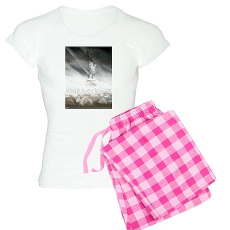Stop Chemtrails Women's Light Pajamas