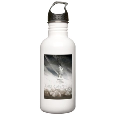 Stop Chemtrails Stainless Water Bottle 1.0L