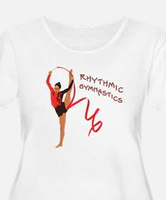 Red Gymnast Ribbon T-Shirt