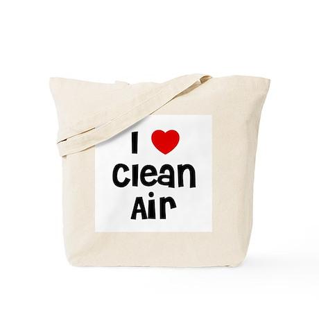 I * Clean Air Tote Bag