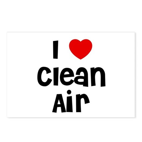 I * Clean Air Postcards (Package of 8)