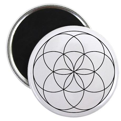 Germ Of Life Symbol Magnet