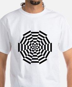 Dodecagon Black & White Shirt