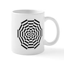 Dodecagon Black & White Mug