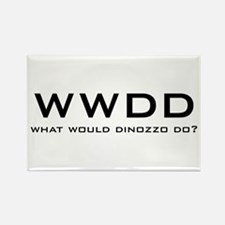 What Would DiNozzo Do? Rectangle Magnet