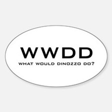 What Would DiNozzo Do? Decal