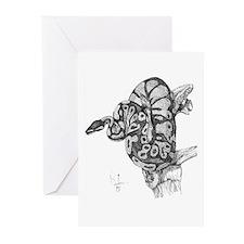 Ball Python Greeting Cards (Pk of 20)