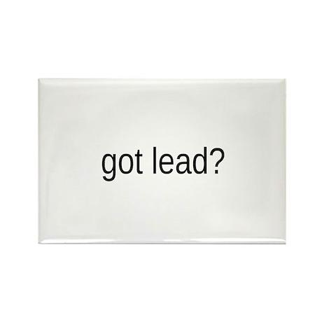 got lead Rectangle Magnet (100 pack)