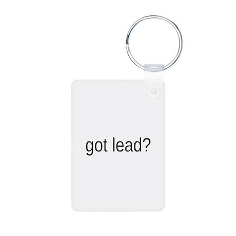 got lead Aluminum Photo Keychain