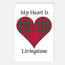 Heart - Livingstone Postcards (Package of 8)