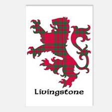 Lion - Livingstone Postcards (Package of 8)