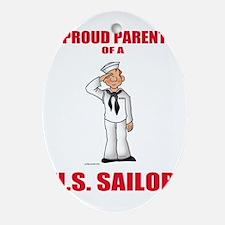 Proud Parents Ornament (Oval)