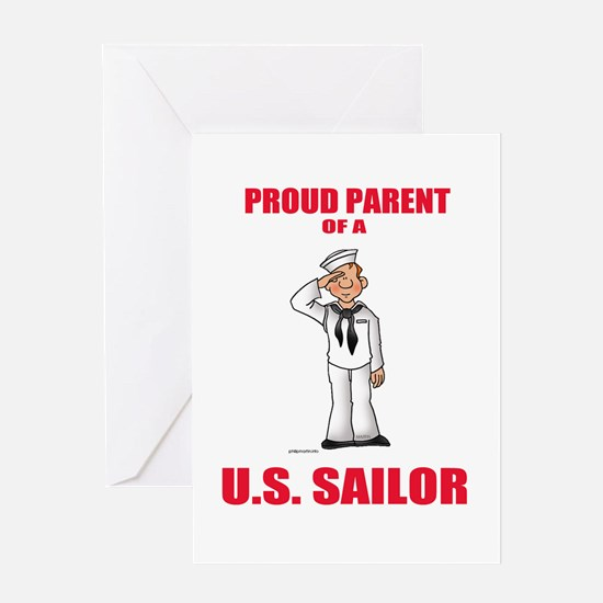 Proud Parents Greeting Card