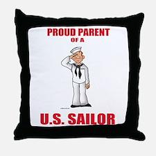 Proud Parents Throw Pillow