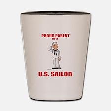 Proud Parents Shot Glass
