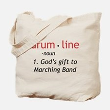 Definition of Drumline Tote Bag