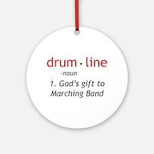 Definition of Drumline Ornament (Round)