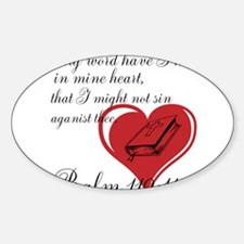 IN MY HEART Decal