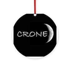 CRONE Ornament (Round)